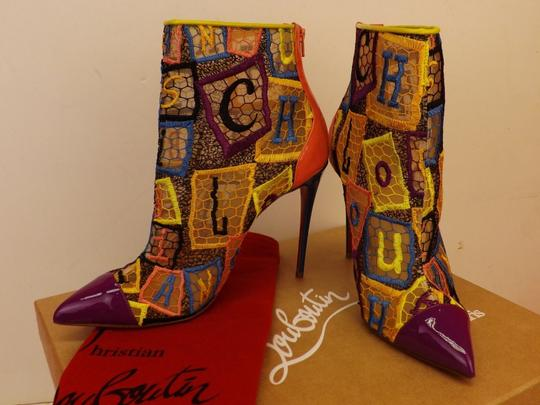Christian Louboutin Multicolor Boots Image 6
