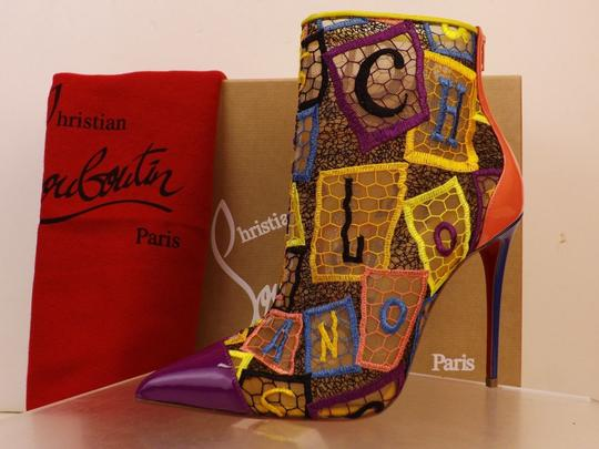 Christian Louboutin Multicolor Boots Image 8