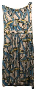 Lilly Pulitzer short dress blue, yellow and white on Tradesy