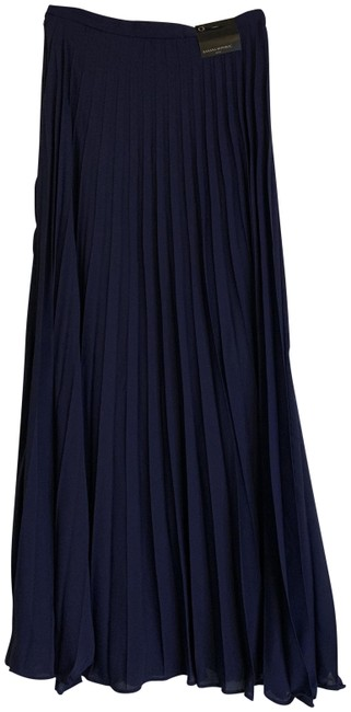 Item - Navy Pleated Skirt Size 0 (XS, 25)