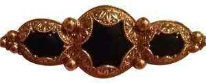 Black And Gold Broach