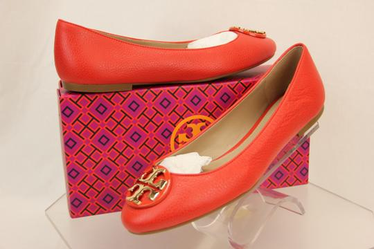 Tory Burch Red/Samba Flats Image 1