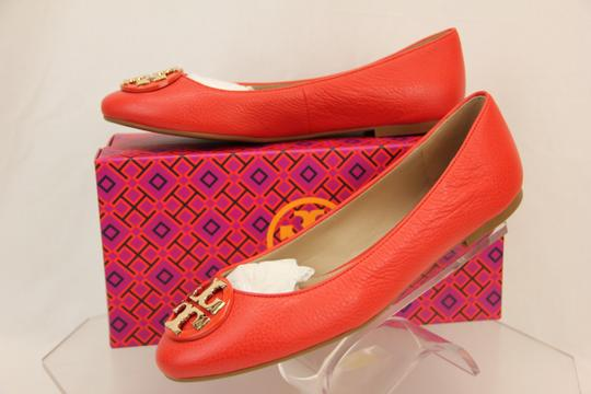 Tory Burch Red/Samba Flats Image 2