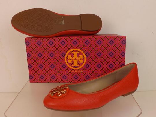 Tory Burch Red/Samba Flats Image 6