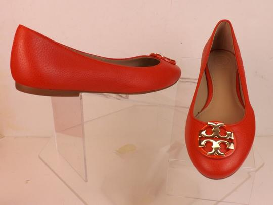 Tory Burch Red/Samba Flats Image 7