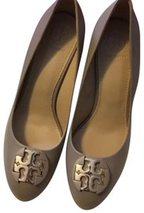 Tory Burch French Gray Wedges