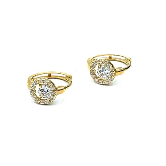 Preload https://img-static.tradesy.com/item/24687410/14k-yellow-gold-sparkly-baby-huggie-earrings-0-0-540-540.jpg