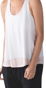 Lululemon All Tied Up Tank in White