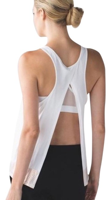 Lululemon All Tied Up Tank in White Image 1