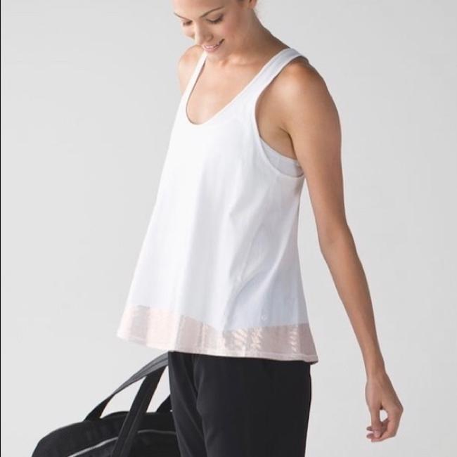 Lululemon All Tied Up Tank in White Image 3