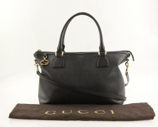Gucci Satchel in Black Image 11