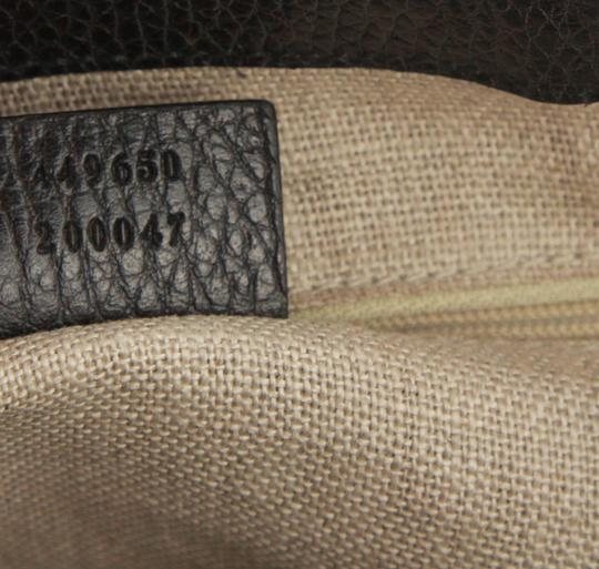 Gucci Satchel in Black Image 8