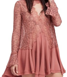 Free People short dress Dusty Muave on Tradesy