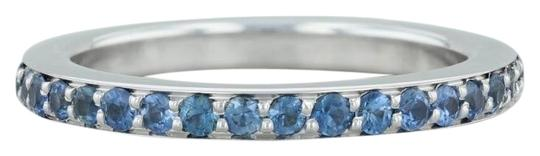 Preload https://img-static.tradesy.com/item/24687797/movado-blue-and-white-gold-1ctw-sapphire-eternity-18k-7-stackable-band-wedding-ring-0-1-540-540.jpg