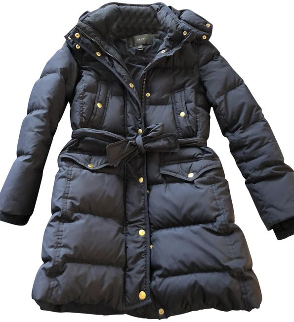 Preload https://img-static.tradesy.com/item/24687909/jcrew-navy-wintress-belted-puffer-small-coat-size-petite-4-s-0-1-650-650.jpg