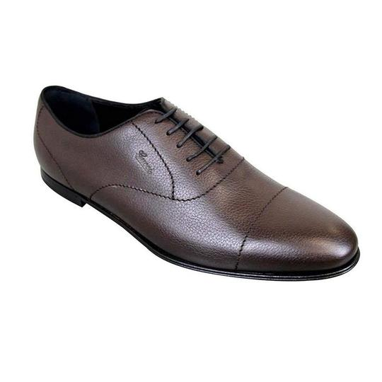 Gucci Brown Leather Oxford 258804 (10.5 G / 11.5 Us) Shoes