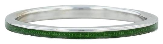 Preload https://img-static.tradesy.com/item/24688103/hidalgo-white-gold-and-green-new-18k-resin-size-675-stackable-band-designer-ring-0-1-540-540.jpg