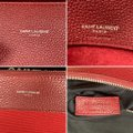 Saint Laurent Sdj Small Sdj Sac De Jour Sdj Tote in Red Burgundy Palissandre Image 8