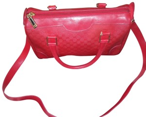 Gucci Satchel in Red gold
