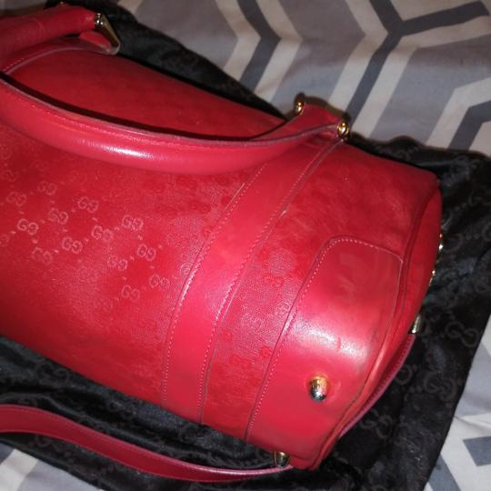 Gucci Satchel in Red gold Image 1