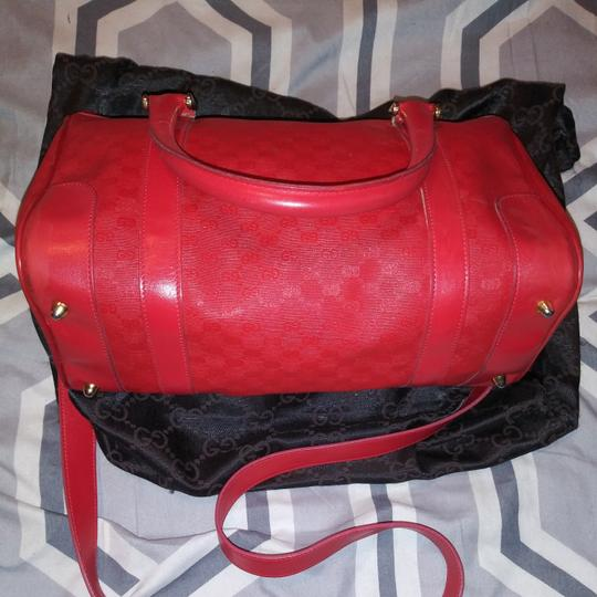 Gucci Satchel in Red gold Image 3