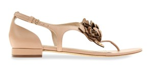 Tory Burch Gold Blossom pink Sandals