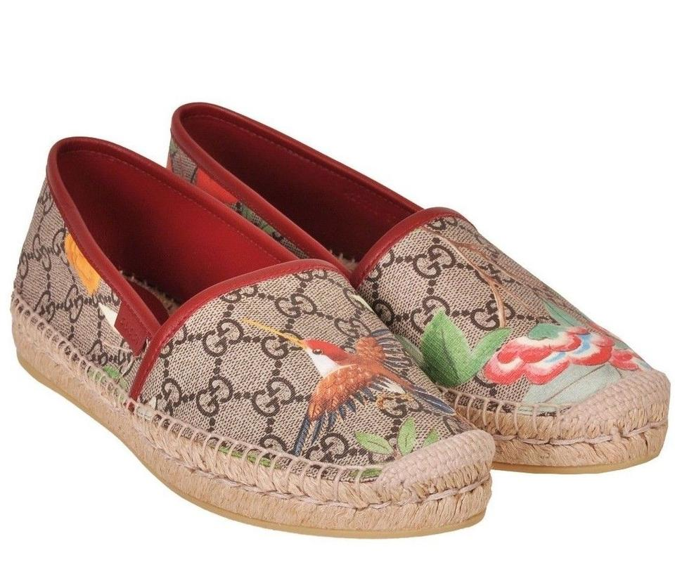 3f52307ead3 Gucci Multicolor Pilar Tian Blooms Print Gg Canvas Leather Logo ...