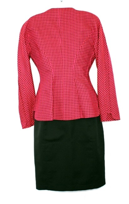 Thierry Mugler MUGLER BY THIERRY MUGLER FITTED SKIRT SUIT 40 Image 4
