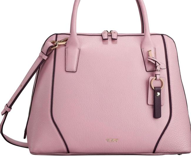 Item - Dome Satchel Briefcase Pink Leather Tote
