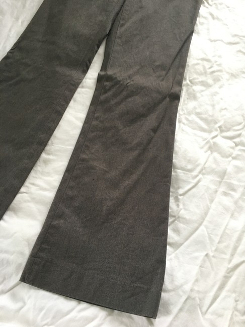 Banana Republic Martin Fit Wide Leg Trouser Pants Brown Image 2