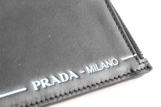 d992fea61c5ad6 Prada Black Logo Embossed Credit Card Holder Wallet - Tradesy
