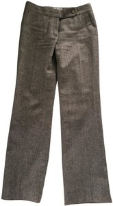 Calvin Klein Boot Cut Pants Brown Tweed