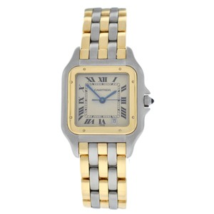 Cartier Ladies Cartier Panthere 187949 Quartz 27 MM Steel 18K Gold Three Row