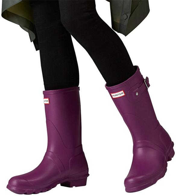 Item - Violet Boots/Booties Size US 7 Regular (M, B)
