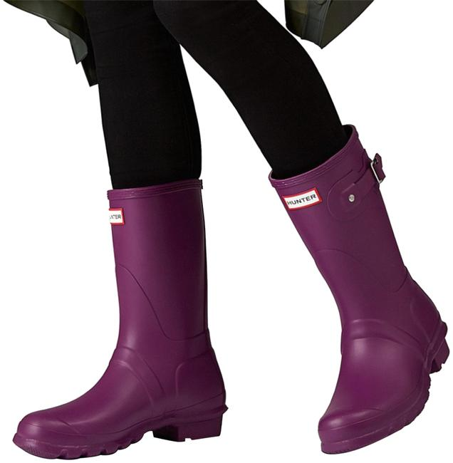 Item - Violet Boots/Booties Size US 8 Regular (M, B)