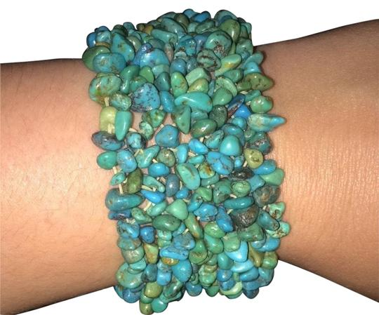 Preload https://img-static.tradesy.com/item/2468920/turquoise-colored-stone-bracelet-0-1-540-540.jpg