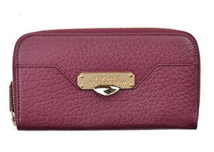 Versace Collection Wristlet in Burgundy
