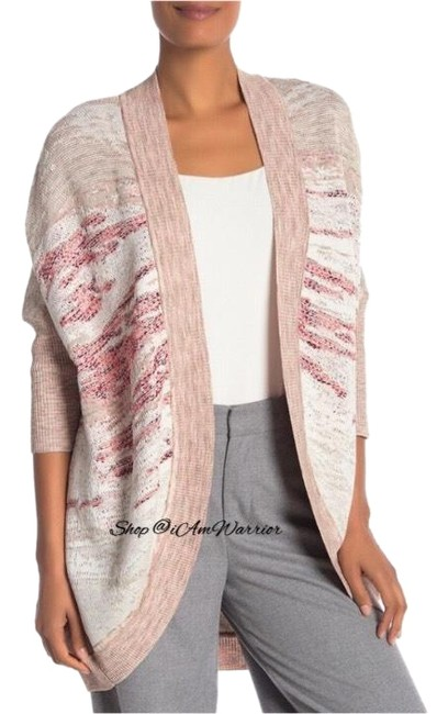 Preload https://img-static.tradesy.com/item/24689508/st-john-tan-multi-textured-dolman-sleeve-open-cocoon-cardigan-size-12-l-0-5-650-650.jpg