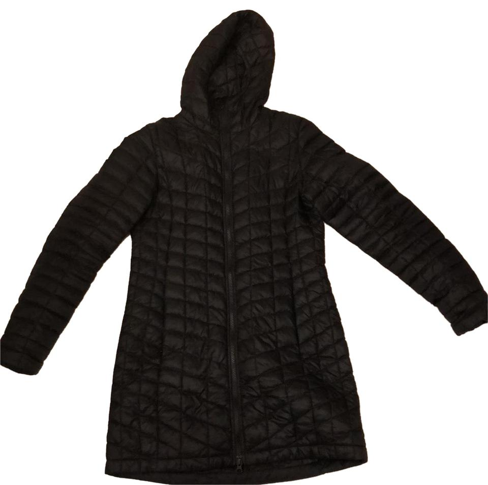3d899b22f5 The North Face Black Womens Thermoball Parka Ii Coat Size 4 (S ...