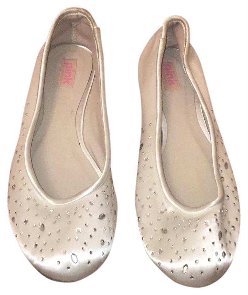 d0fe42ab65e Paradox London Pink Silver Wedding Flats Size US 8.5 Regular (M