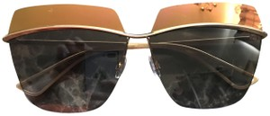 63ba0d790d Dior  500 Dior Metallic Orange Top Mirror Lens Sunglasses.