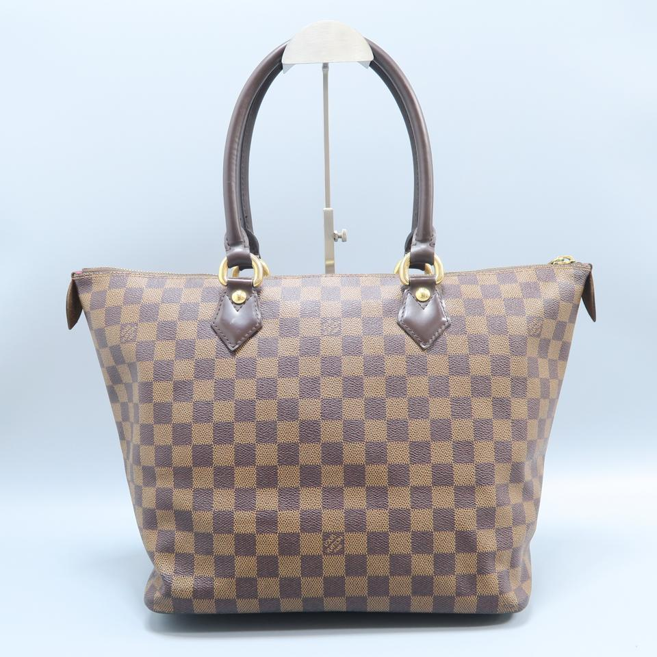 2c92308932f1 Louis Vuitton Lv Saleya Canvas Damier Ebene Tote in brown Image 11.  123456789101112