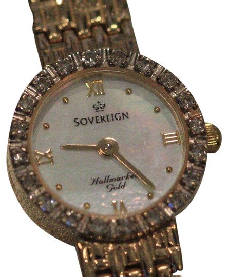 Preload https://img-static.tradesy.com/item/2469055/yellow-gold-with-20-diamond-bezel-and-mother-of-pearl-face-watch-0-0-540-540.jpg