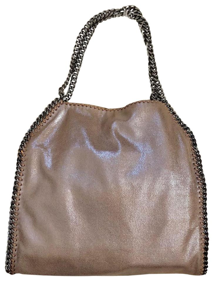 4489402efc Stella McCartney Small Falabella Tote New With Redwood Faux Leather  Shoulder Bag 18% off retail