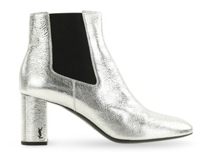 Saint Laurent Silver Boots