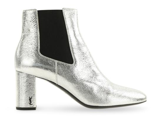 Preload https://img-static.tradesy.com/item/24690944/saint-laurent-silver-leather-ankle-bootsbooties-size-eu-405-approx-us-105-regular-m-b-0-2-540-540.jpg