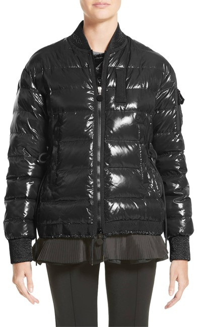 38751e9b7 Moncler Lucy Black Quilted Puffer Jacket Coat Size 8 (M) 45% off retail
