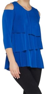 189f0912c3ee3f Blue Susan Graver Tops - Up to 70% off a Tradesy