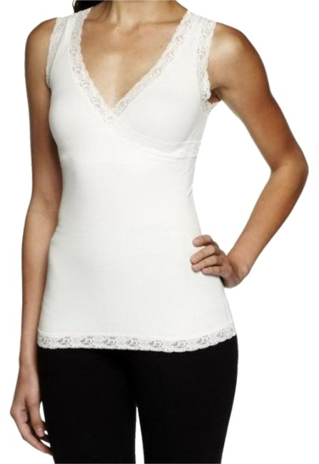 Item - Ivory Down For Good Shaping Cami Activewear Top Size 6 (S)