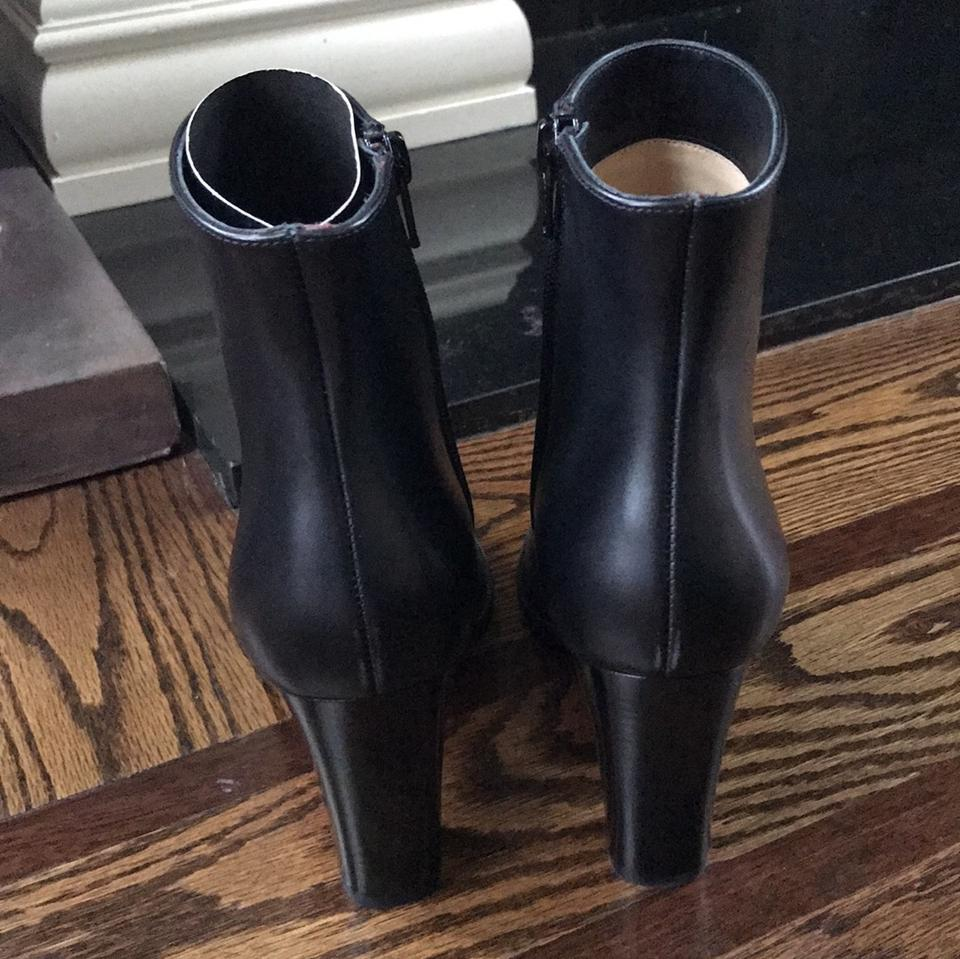 c6c3430b833 Christian Louboutin Black Adox 85mm Leather Classic Boots Booties. Size  EU  35 ...